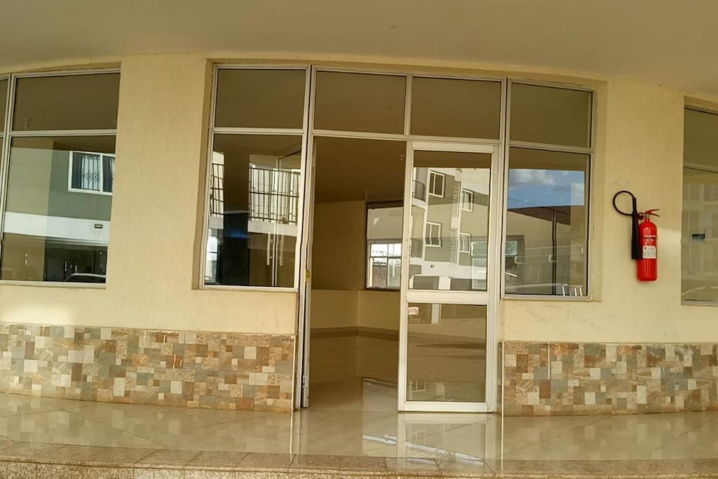 Gyme and Swimming Pool Entrance
