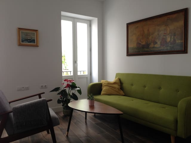 Single room in a beautiful old flat with terrace