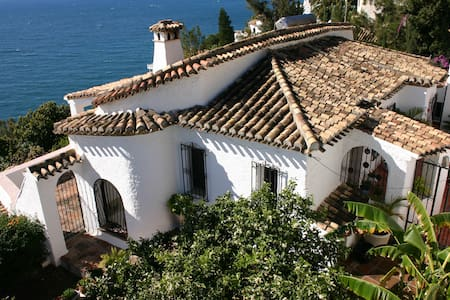 Casa Lobo - heated pool and seewiew - Salobreña