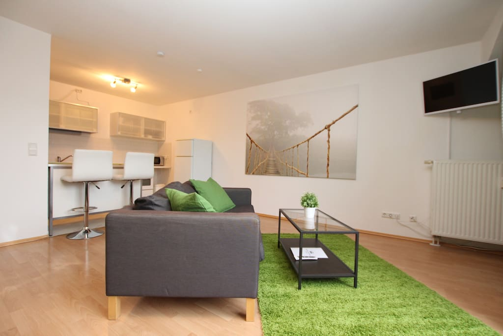 city center apartment apartments for rent in leipzig sachsen germany. Black Bedroom Furniture Sets. Home Design Ideas
