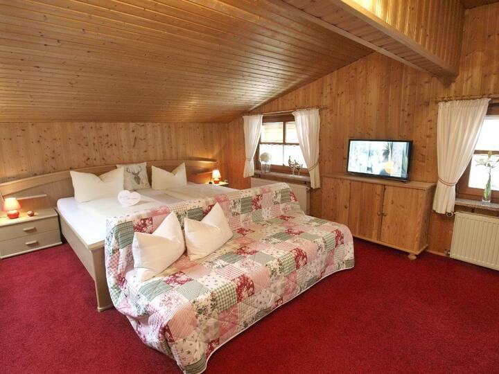 Hotel zum Goldenen Anker (Windorf), Appartement (55qm) für 3 Personen mit Balkon und Küchenzeile