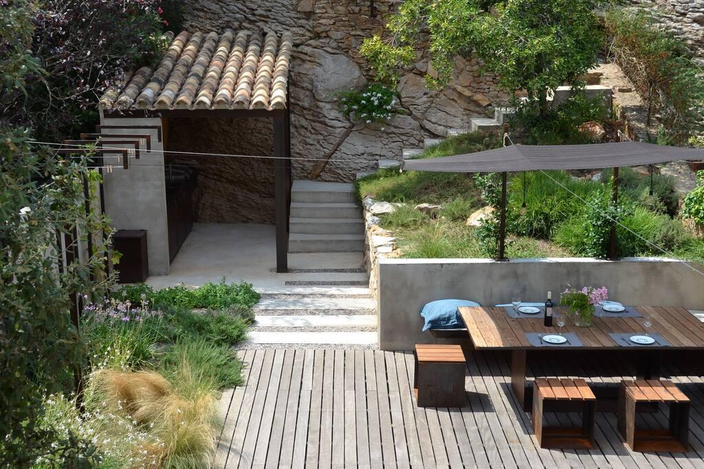 Terrace + Jardin