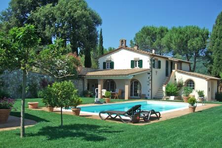Casale Toscana con piscina - Riparbella - Villa