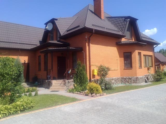 Big room 14km from Kiev City - Киев - Huis