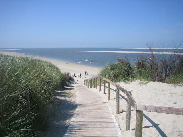 Langeoog, Urlaub mit Aussicht