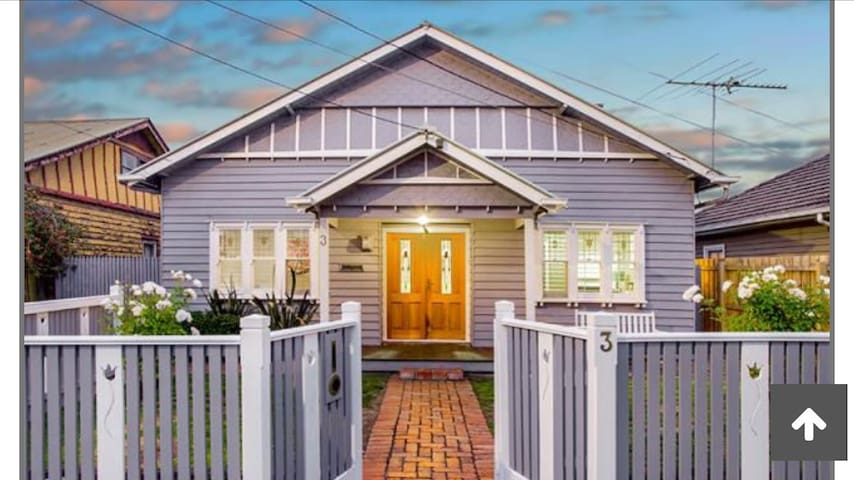 Victorian beauty 6 km from city CBD - Yarraville - Talo