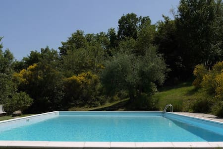 Stunning views and peaceful setting - Todi - Huvila