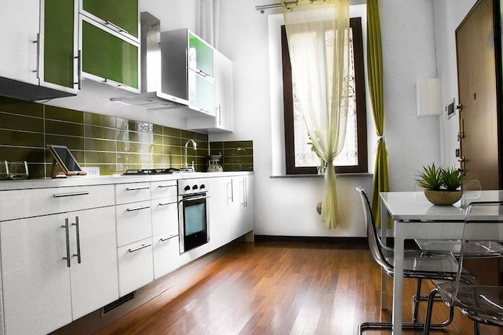 The Kitchen - ample space for creativity