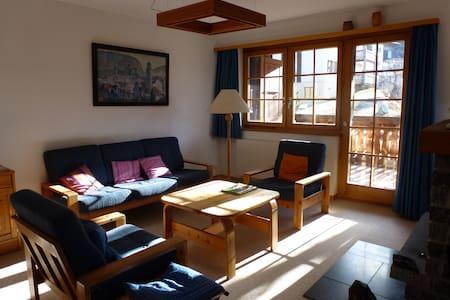 Traumwohnung im sonnigen Wallis - Bürchen - 公寓
