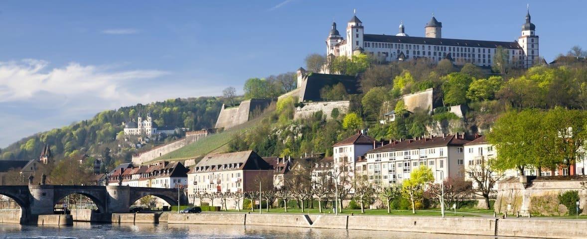 zentrale Ferienwohnung in Würzburg - Würzburg - Appartamento