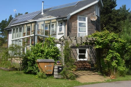 Cosy Eco house, Findhorn Ecovillage - Findhorn - Bed & Breakfast