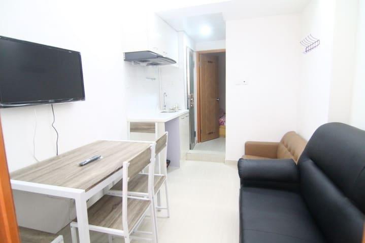 Budget 2 room apt for 4 pax, 2B - Hong Kong - House