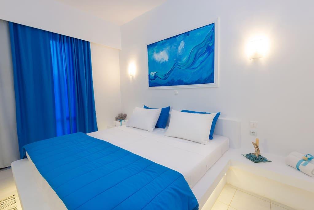 Mojito Beach Rooms - The bedroom