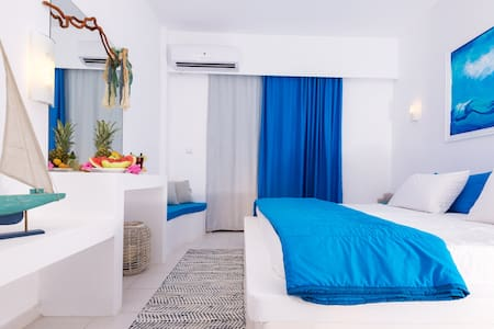 Sea view Double room! - Lachania - Bed & Breakfast