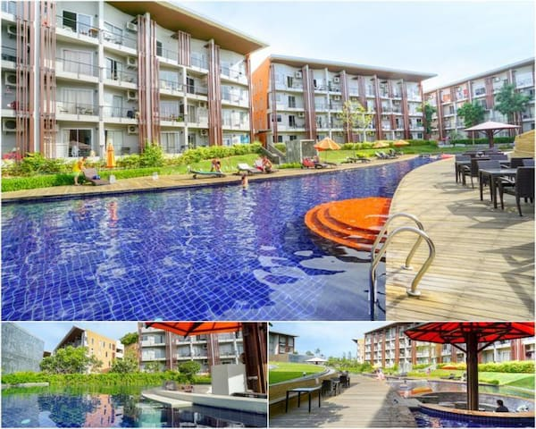 Condo 1 berdoom, 52 sq.m. at cosy place!