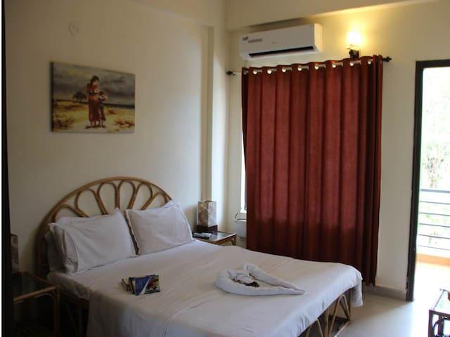 Cozy appartment in Vagator, Goa - goa - Leilighet