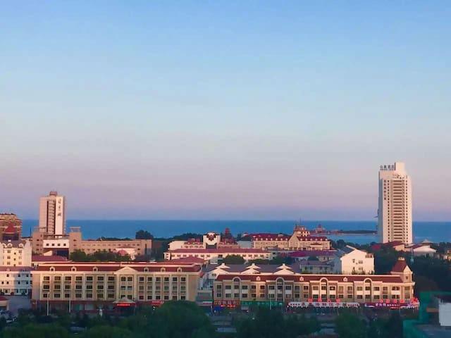 距离海边500米的顶级海景房,依山傍海,带车位,大学校园内十分安全 - 秦皇岛 - Apartment