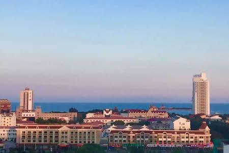 距离海边500米的顶级海景房,依山傍海,带车位,大学校园内十分安全 - 秦皇岛 - Huoneisto