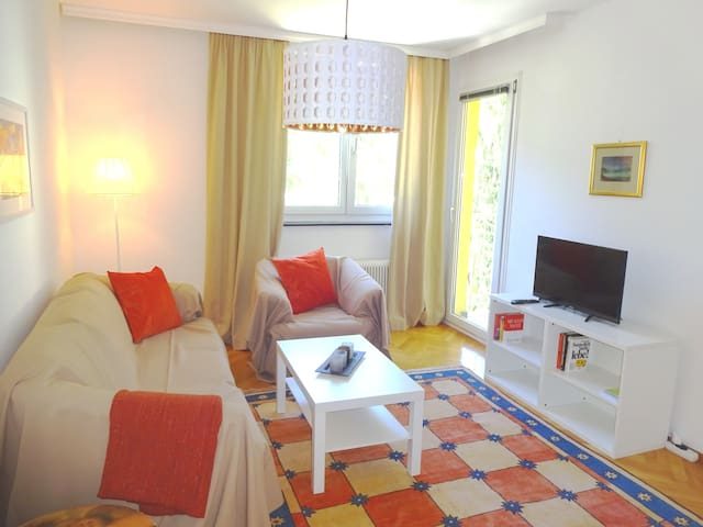Ruhige Wohnung-Nähe Zentrum 4Betten - Klagenfurt am Wörthersee - Appartement