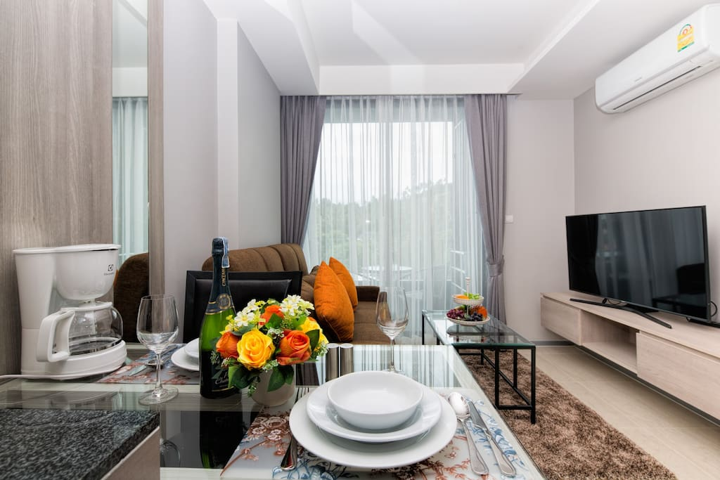 Let this  beautiful apartment be your home in Phuket!