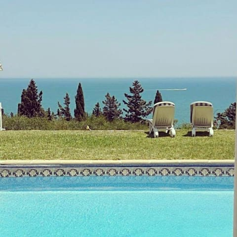 BnB FLAT swimingpool gammarth tunis - La Marsa  - Bed & Breakfast