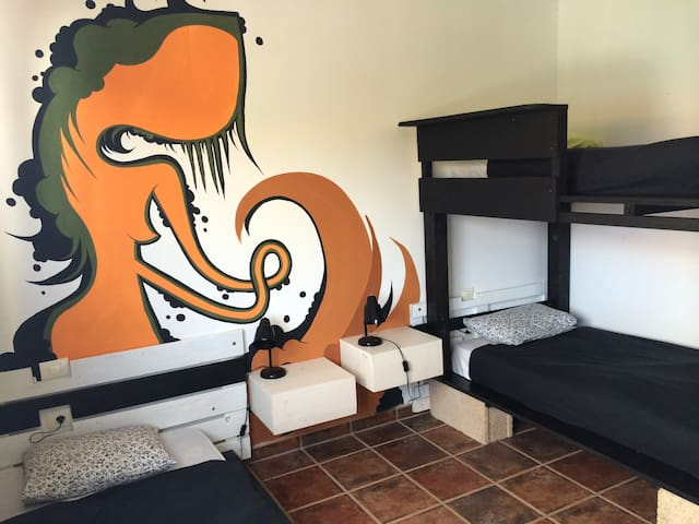 Room for rent in Fuerteventura - La Oliva - Bed & Breakfast