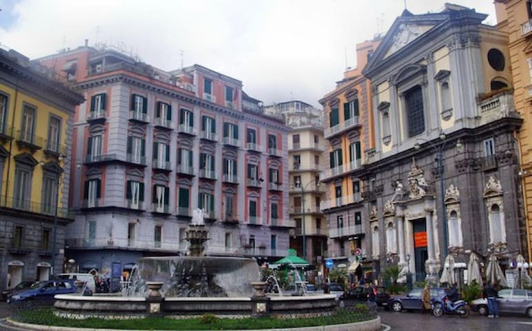 Relax in the heart of Naples (piazza Plebiscito)