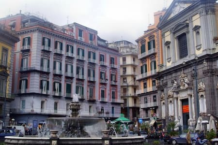 Relax in the heart of Naples(wifi)