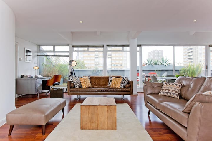 Old st Shoreditch Spacious Penthouse with terrace