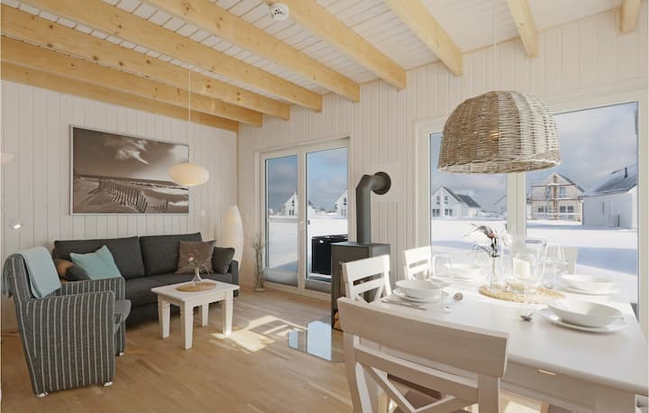 Stunning home in OstseeResort Olpenitz with Sauna, 2 Bedrooms and WiFi