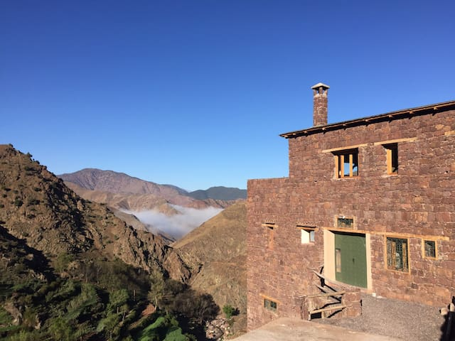 Atlas Berber lodge Morocco Toubkal lodge