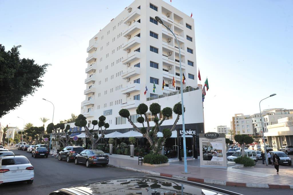 le meilleur rapport qualit prix aparthotele do wynaj cia w agadir souss massa maroko. Black Bedroom Furniture Sets. Home Design Ideas