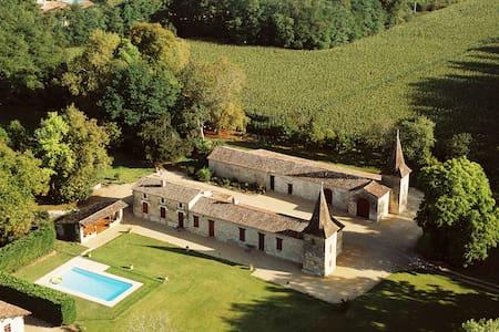 Manoir de Grammont - Miramont-de-Guyenne - Rumah