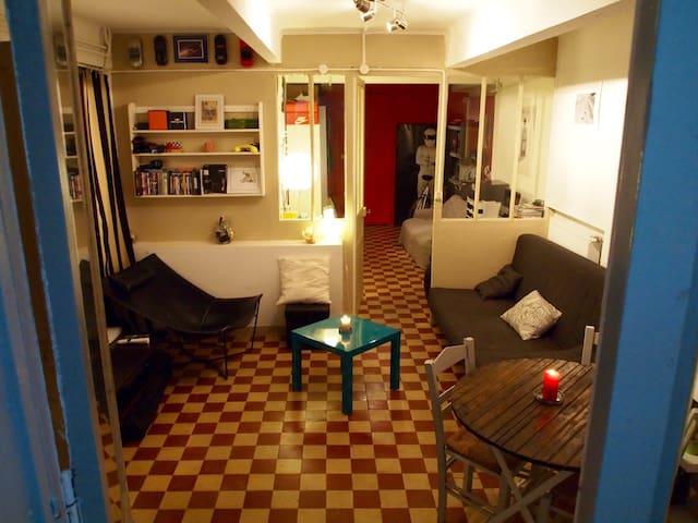 Paris-great apartment quiet & clean - Paris - Daire