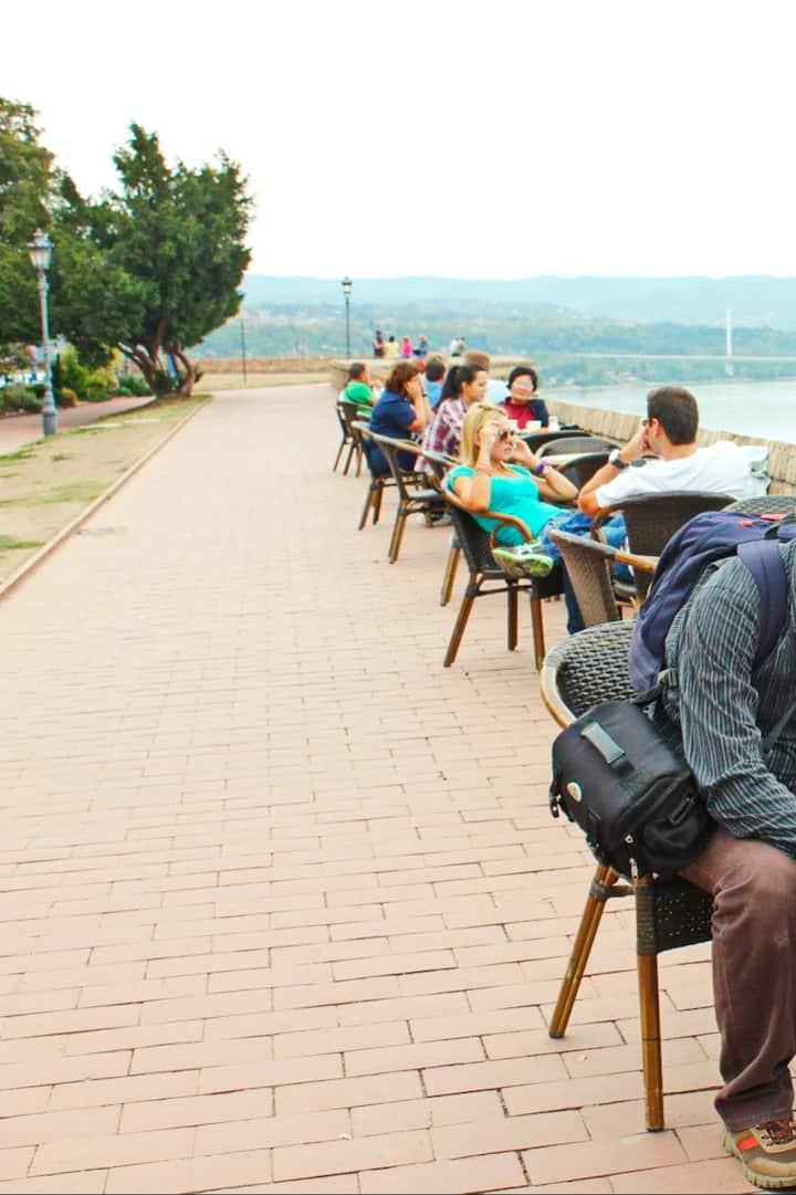 Overlooking Danube