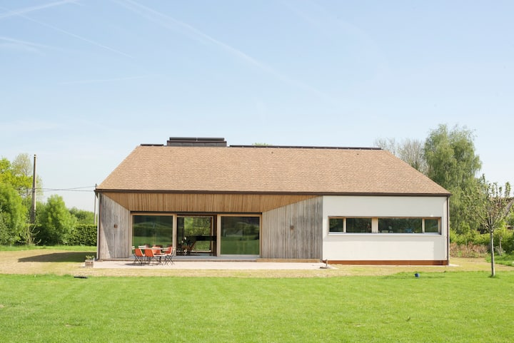 Maison d'architecte à 50 km de Paris