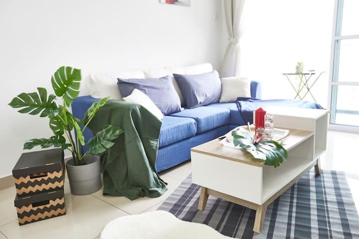 Sofa & Coffee Table (2) | Horizon Residence Bukit Indah 2