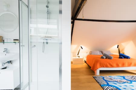 ATTIC010: design Apartment, centrally located