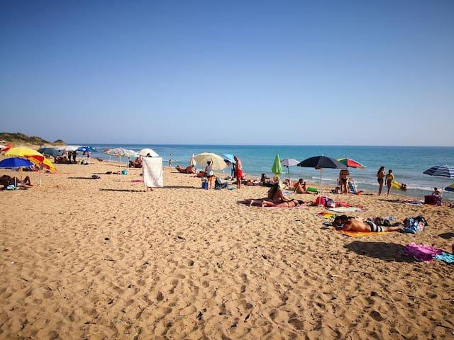 Get away, sun, sea, space do as you like holiday