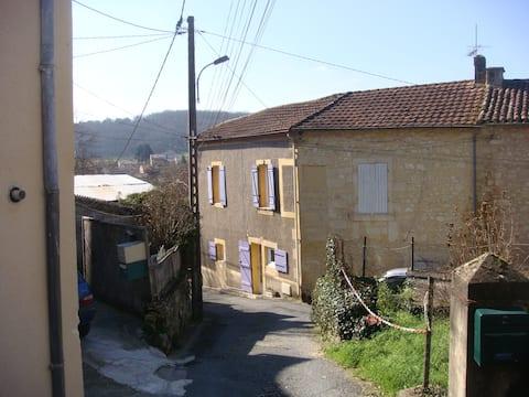 maison de village dans le Périgord