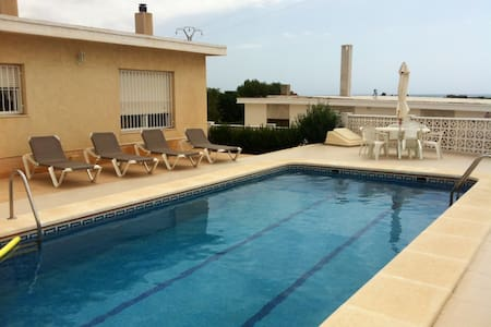 Villa con piscina privada - La Marina del Pinet