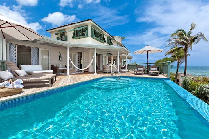 Emily House in Christ Church by Personal Villas - Stunning Beachfront Villa