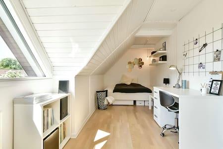 Stort hyggeligt værelse i Sunds - Sunds