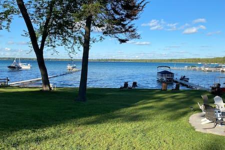 Higgins Lake Front Cottage #1 of 3