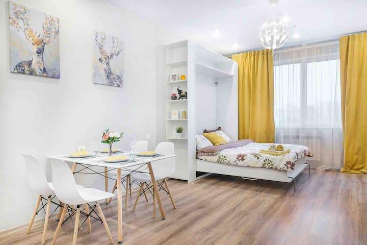 Yellow Rooms Сколково