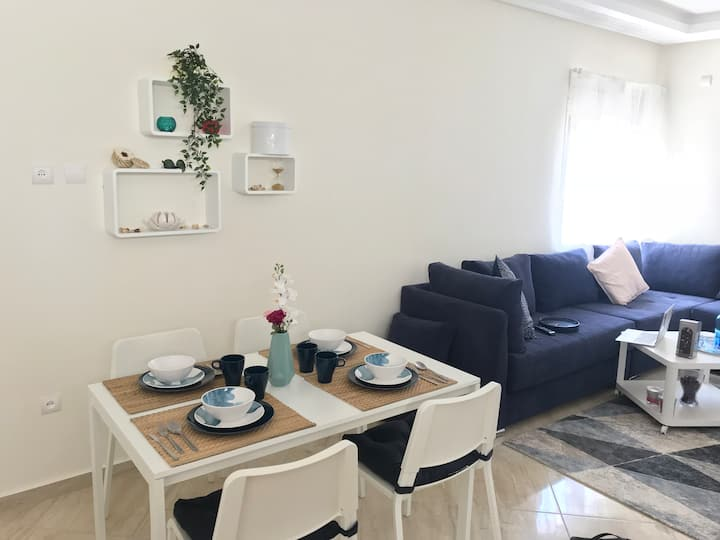 ☆ Seaview Sunny Apartment | Best Location in Rabat