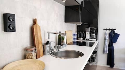 Small modern apartment in Danderyd