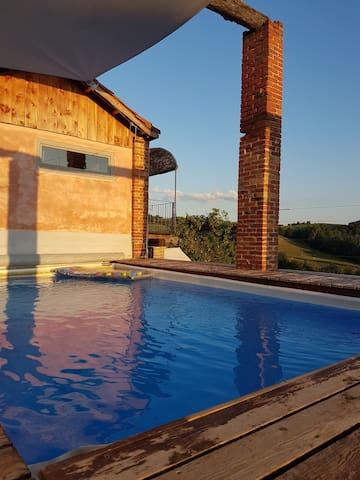 Ferienwohnung Terra mit Pool
