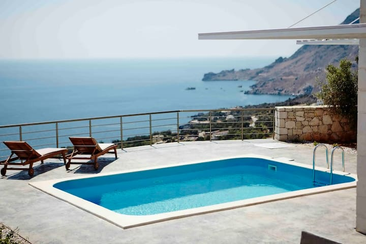 Unobstructed Sea View,Pool,Near Beach&Amenities 2 - Plakias - Casa