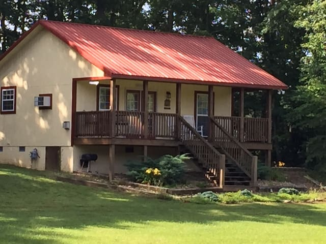 The cottage has all your needs..